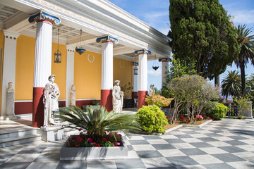 Villa Vraila: Schloss auf Korfu - Archilleion Kaiserin Sissi