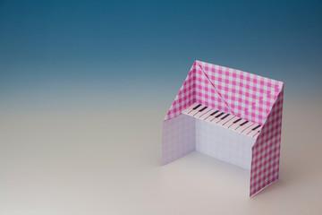 折り紙のオルガン