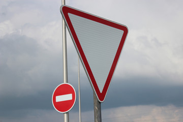 Priority sign
