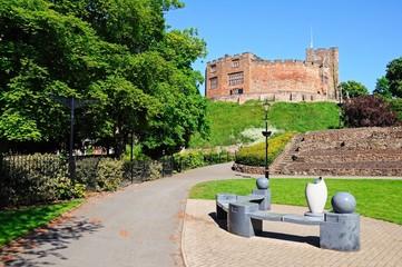 Castle and gardens, Tamworth © Arena Photo UK
