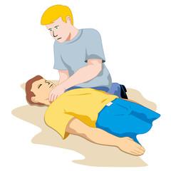 unconscious person