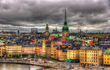 View of Stockholm city center - Sweden