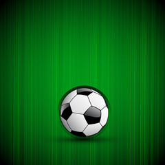 Football Background With Ball and light