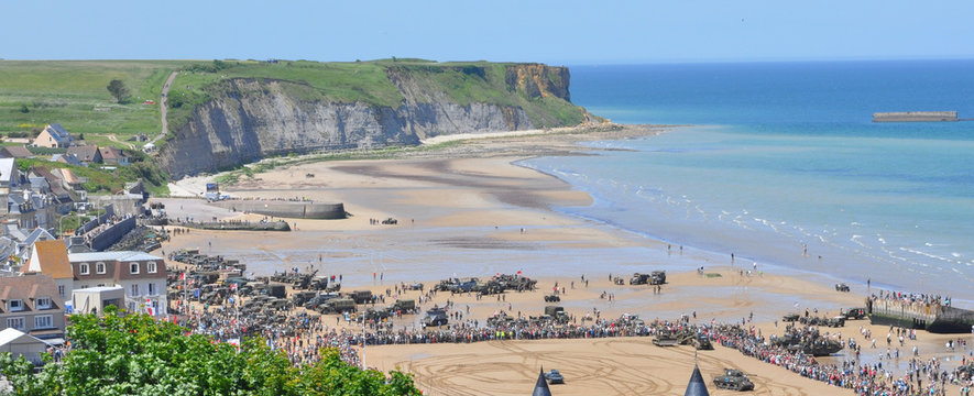 D-Day celebrations in Arromanches