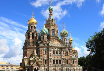 Church of the Saviour on Spilled Blood in Saint Petersburg