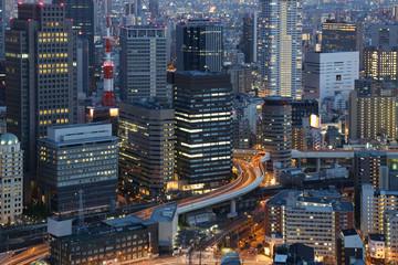 Big City Lights - Osaka Japan