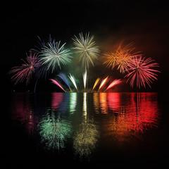 Fireworks - Ignis Brunensis in Czech republic in Brno 18.6.2014