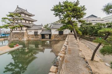 高松城の着見櫓