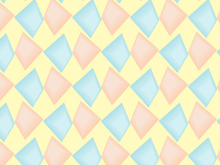 seamless geometric pattern in pastel tint