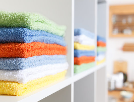 Stack of towel