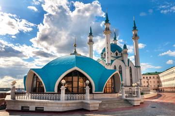 """Mosque """"Kul Sharif"""" in Kazan Kremlin, Tatarstan, Russia"""