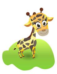 Illustration of cute giraffe