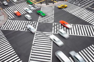 Fototapete - Autoverkehr