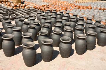 Bhaktapur Pots square
