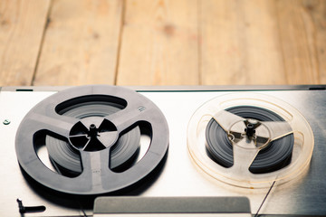 reel to reel tape player and recorder