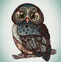 Grafic owl.