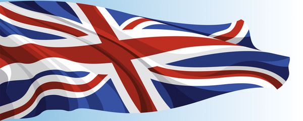 The national flag of the United Kingdom