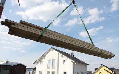 Holz in der Bauwirtschaft