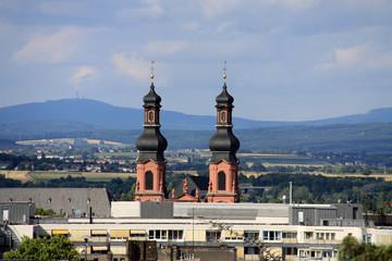 Mainz mit Peterskirche