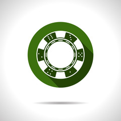 Vector chip  icon. Eps10