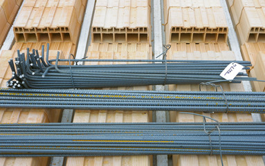 brackets ribbed steel for reinforced concrete
