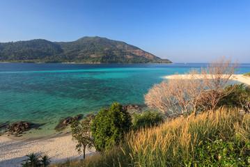 Ocean beach at Koh Lipe, Thailand