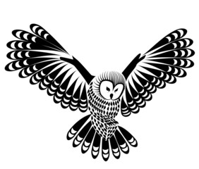 Photo Stands Owls cartoon owl bird vector for mascot or tattoo design or idea of logo