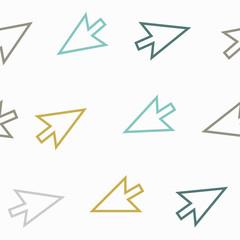 seamless background: arrow