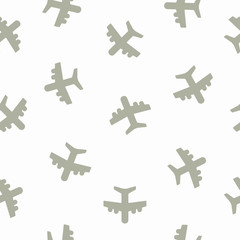 seamless background: plane