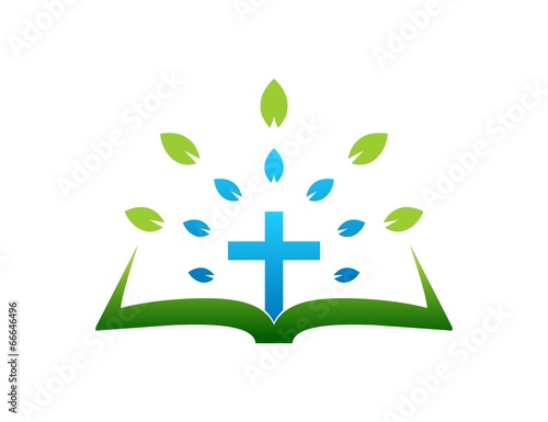 quotcross logogospelleaf abstract symbolreligious icon