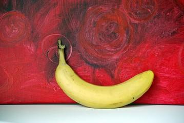 Bild mit Banane