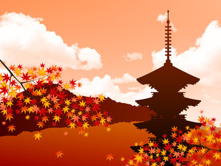 もみじ 紅葉 日本