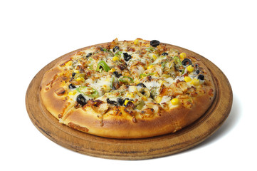 Tavuklu Pizza - Clipping Path Inside