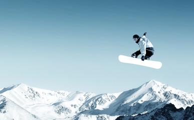 Snowboarding Wall mural