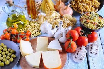 Mediterranean ingredients.