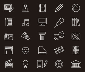 Arts & Entertainment icons