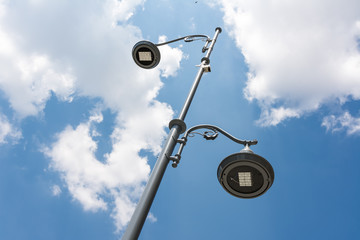 Fotomurales - Street Light Pole Against Blue Sky