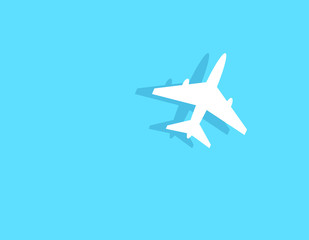 Aircraft. Vector illustration