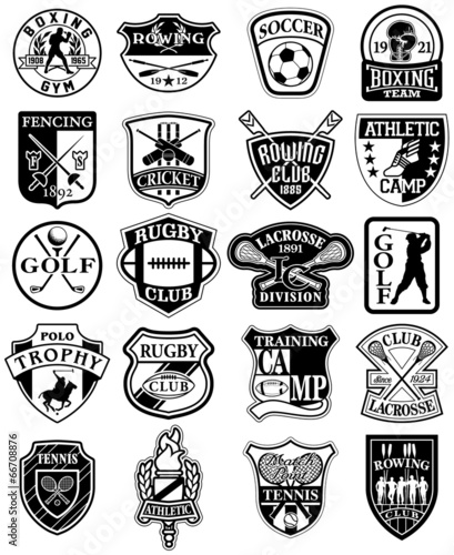 Older black and white vintage sports pictures