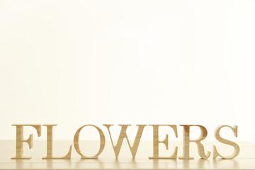 Flowers word