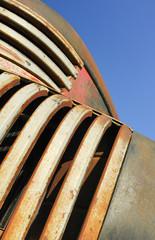Wall Mural - rust bucket pickup truck abstract