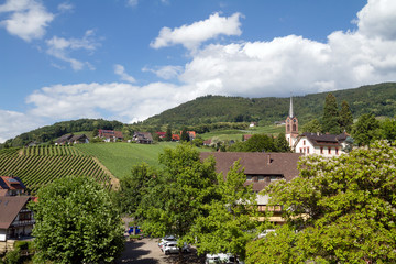 Sasbachwalden, Black forest, Baden-Wuerttemberg, Germany