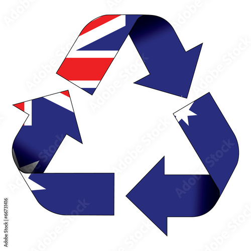 Recycle Symbol Flag Australia Stock Photo And Royalty Free Images