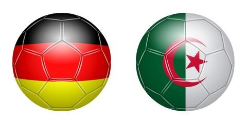Fußball. Deutschland – Algerien
