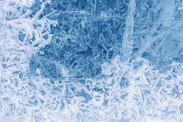 Texture of ice