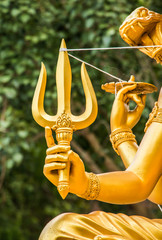 trishula of wisnu statue , chiangmai , Thailand