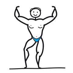 Bodybuilder - Kraftsport - Kraftsportler