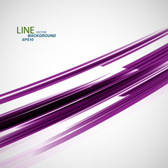Vector color abstract line eps