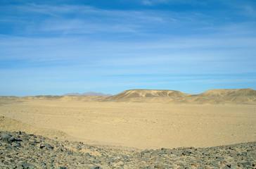 Egyptian desert.