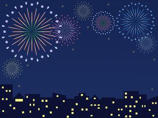 Fireworks - City